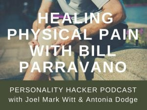 "In this episode Joel and Antonia talk with the ""Knee Pain Guru"" Bill Parravano about healing physical pain in your body. #podcast"