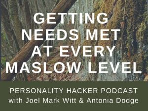 In this episode, Joel and Antonia talk with their friend Dan (a former guest on episode 38) about his current personal development work and getting needs met at every Maslow level. #podcast #INFP