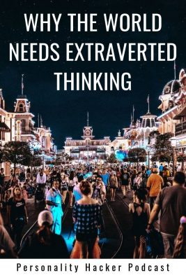 "In this episode Joel and Antonia become advocates for the cognitive function of Extraverted Thinking (""Effectiveness"") and talk about why we need it in our world. #INTJ #ENTJ #ESTJ #ISTJ"