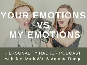 In this episode Joel and Antonia talk about our tendency as people to undervalue emotions in others until we experience them in ourselves. #podcast #emotion #communication