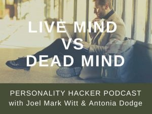 In this episode Joel and Antonia talk about how to develop a live mindset for personal growth. #podcast