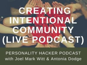 In this episode Joel and Antonia host our first live podcast from Arden, Delaware talking about building intentional community that supports personal growth. #podcast #community