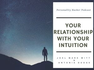 In this episode, Joel and Antonia talk about intuition and how all of us use it in our personality. They discuss the degree to which intuition shows up for you and how to honor it in your life. #podcast #intuition #intuitiveawakening #mbti