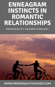 In this episode, Joel and Antonia talk about how our Enneagram instincts (self preservation - social - sexual) influence our romantic relationships. #podcast #enneagram #relationships