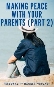 In this episode Joel and Antonia continue talking through the personal story of Antonia actually attempting to make peace with her parents. #podcast #Parents #relationships