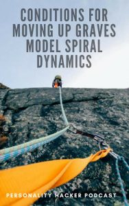 In this episode Joel and Antonia talk about the conditions that need to be in place for an individual or society to move up the Graves Model Spiral Dynamics. #gravesmodel #personalgrowth #spiraldynamics
