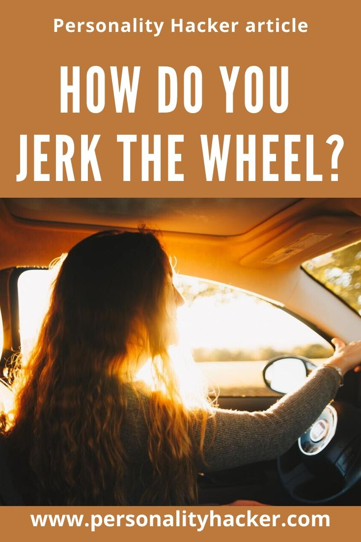 We all have a tendency to make sudden moves in life without the ability to control the result. How do you metaphorically jerk the wheel, and how can you make better choices to avoid losing control? #INFJDoorSlam #emotionalintelligence