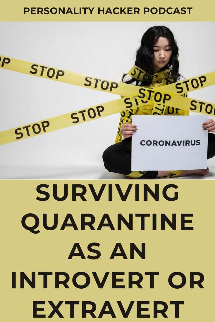 In this episode Joel and Antonia talk about how introverts and extraverts deal with the COVID-19 quarantine brought on by the 2020 #coronavirus. #COVID-19 #introvert #extravert