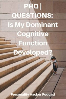 Is My Dominant Cognitive Function Developed? #myersbriggs #cognitivefunctions