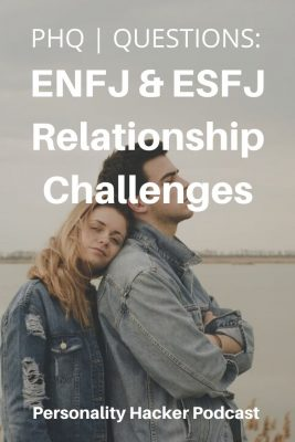 In this episode, Joel and Antonia answer a question from a listener about ENFJ and ESFJ relationship challenges. #ENFJ #ESFJ #ENFJrelationship #ESFJrelationship