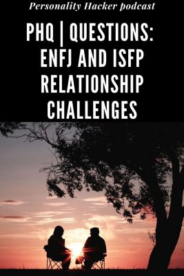 In this episode, Joel and Antonia answer a question from a listener about ENFJ and ISFP relationship challenges. #ENFJ #ISFP #Relationshipchallenges