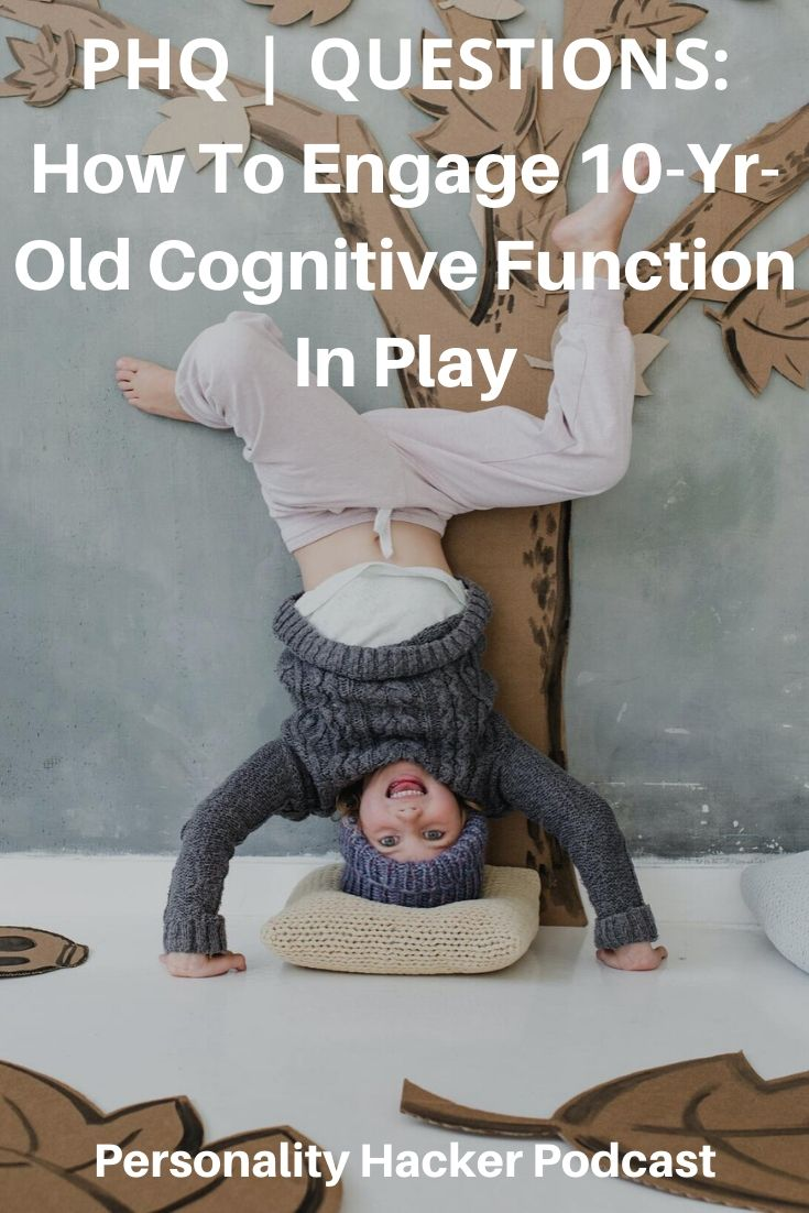 In this episode, Joel and Antonia answer a listener question about how to engage the 10-year-old cognitive function in play. #myersbriggs