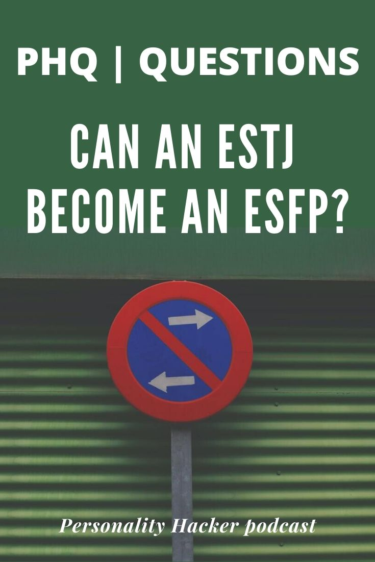 In this episode, Joel and Antonia answer a listener question about transforming from an #ESTJ to an #ESFP.