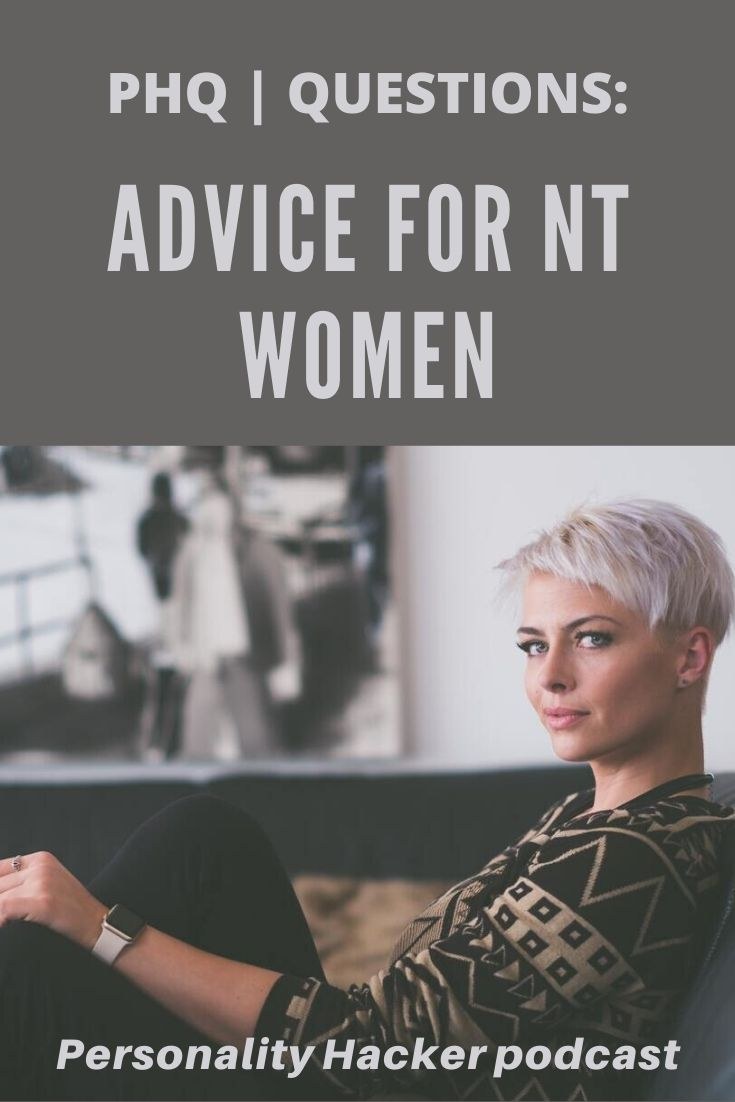 In this episode, Joel and Antonia answer a listener question about how Intuitive Thinker women express feminine energy. #ENTP #ENTJ #INTJ #INTP #WOMEN