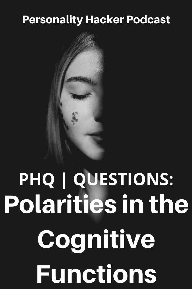 In this episode, Joel and Antonia answer a listener question about polarities in the cognitive functions. #myersbriggs
