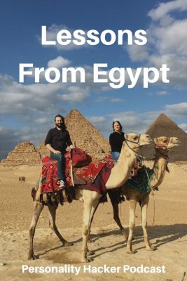 In this episode Joel and Antonia talk about their recent trip to Egypt and the lessons taken from an ancient civilization.