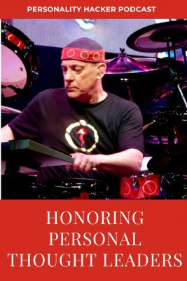 In this episode Joel and Antonia reflect on the death and legacy of Neil Peart (drummer for the progressive rock band Rush) and how thought leaders shape how we think as people. #rush #neilpeart