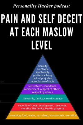 In this episode, Joel and Antonia revisit Maslow's Hierarchy of Needs and discuss the pain and self-deceit we often face at each level. #maslowshierarchy